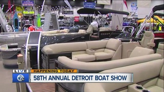 Detroit Boat Show continues all week at Cobo