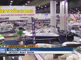 58th annual Detroit Boat Show underway