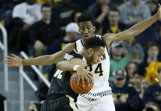 Caris LeVert returns as Michigan upsets Purdue
