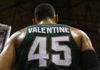 Valentine's Day again in MSU win over Indiana