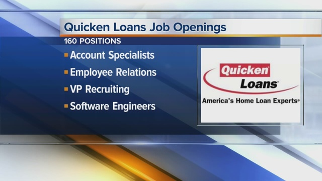 Quicken Loans Inc. is looking to fill more than a hundred jobs in ...