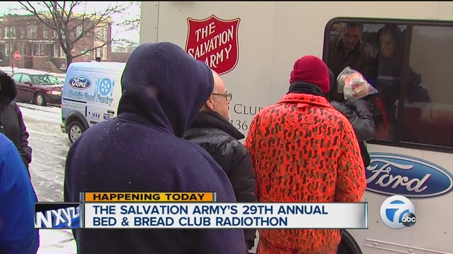 The Salvation Army and WJR are hosting the Annual Bed