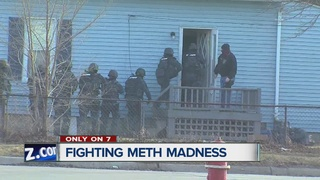 Taking you along on a meth lab bust