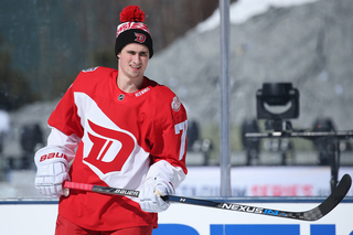 PHOTOS: Red Wings practice for Stadium Series