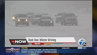 Rant Van: Winter driving in metro Detroit