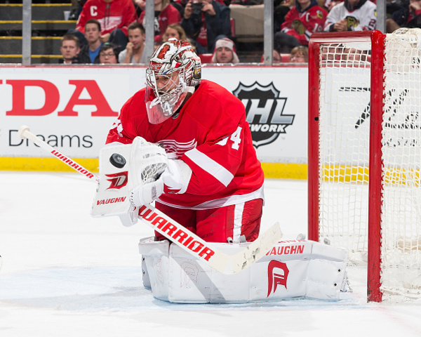 Red Wings look to right the ship against Blackhawks
