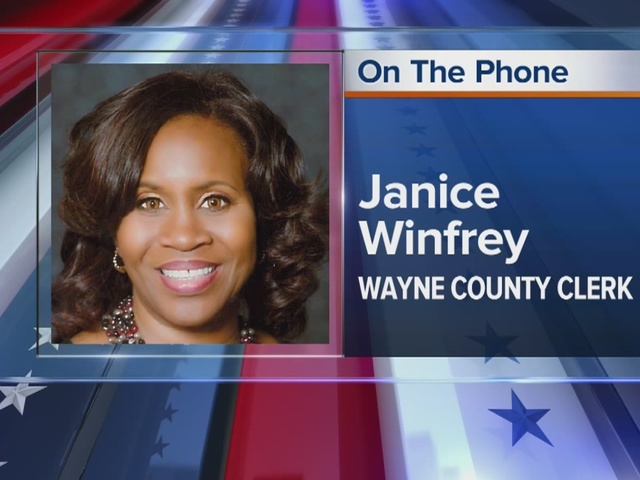 ... Janice Winfrey talks about primary election in the city - WXYZ.com