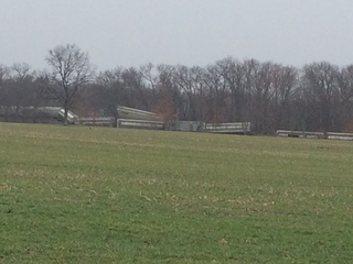 About 20 train cars derail in Livingston County