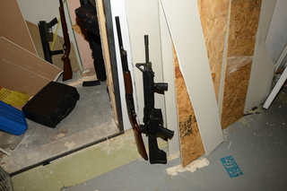 PHOTOS: Guns, ammo in Kalamazoo shooter's home
