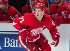 Larkin named Red Wings Rookie of the Year