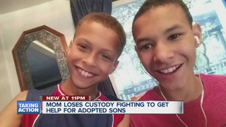 Mother fighting to get her adopted kids back