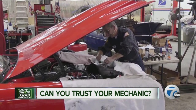 Fantastic Consumer Reports Can You Trust Your Mechanic  WXYZcom