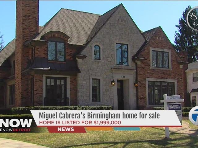 Detroit Tigers star Miguel Cabrera selling his home in ... Miguel Cabrera Fantasy Outlook