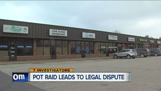 Couple weighing legal options after drug raid