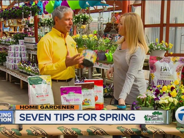 English Gardens Home Gardener: Seven Tips for Spring