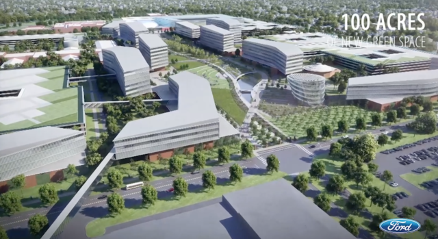 Video Ford To Transform Dearborn Campus In 10 Year Plan
