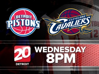 TV20 Detroit will air Pistons game Wednesday
