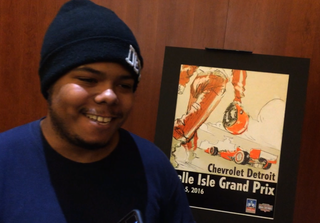 CCS student wins poster contest for Grand Prix