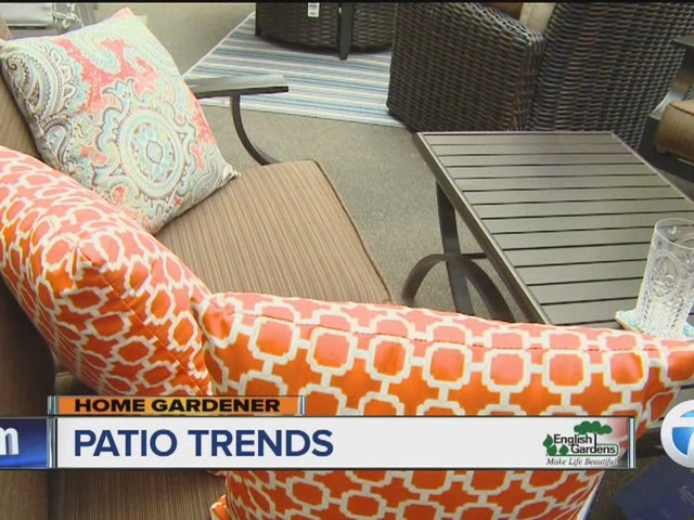 English Gardens Home Gardener: Patio Trends