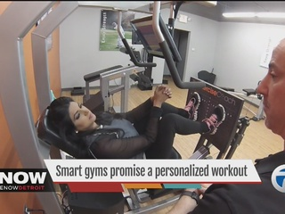 Smart gym combines technology with fitness
