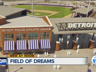 New field of dreams at Michigan & Trumbull