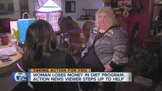 WXYZ viewer steps up to help woman get healthy