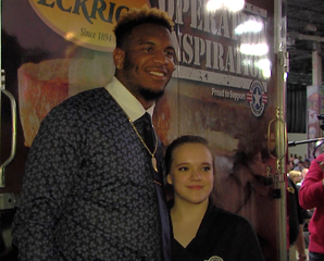 Eric Ebron happy to give back to the community