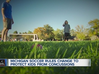 MI Youth Soccer League changes rules for headers
