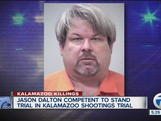 Kalamazoo shooting suspect competent for trial