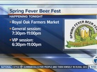 Royal Oak Spring Fever Beer Fest Saturday