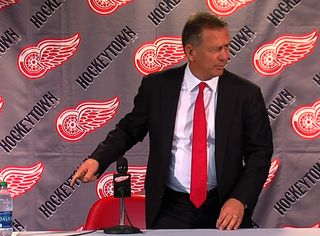 Red Wings' Holland: 'Less can be more exciting'