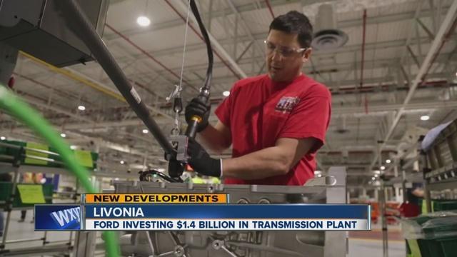 ford investing 1 6 billion in livonia transmission plant. Black Bedroom Furniture Sets. Home Design Ideas