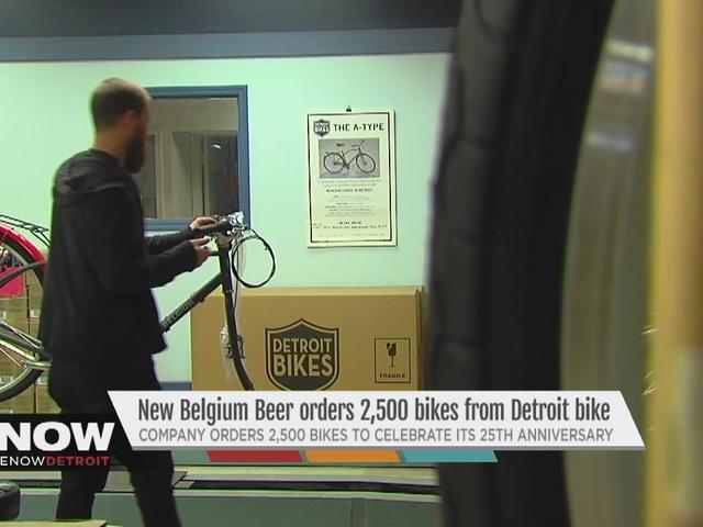 New Belgium Beer order 2,500 bikes