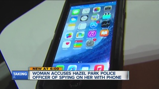 Woman claims Hazel Park officer spied on her
