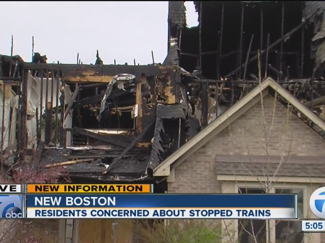 Fire Chief: Stopped train didn't play role in firefighters' response to…
