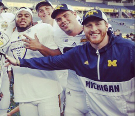 Jay Harbaugh sends funny satellite camp tweet