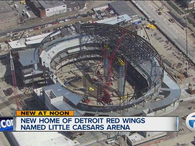 Red Wings new arena named Little Caesars Arena