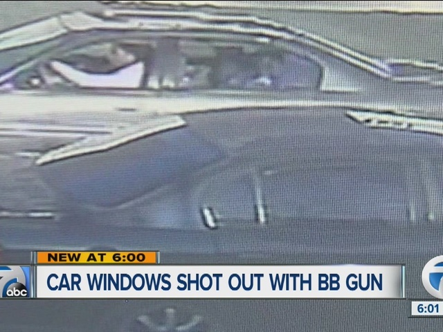 Suspects wanted for shooting out car windows with BB gun in multiple cities