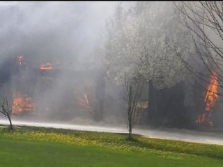 New Boston home a total loss after fire