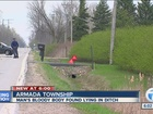 Man found dead in ditch victim of hit-and-run