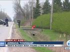 Man found dead in ditch in Armada