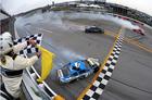 Keselowski wins crazy crash-fest at Talladedega