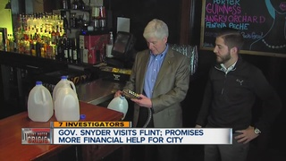 Snyder: Expanded Medicaid coverage for Flint