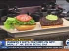 Mr. B's burgers