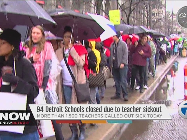 Second day of sick-outs expected at DPS