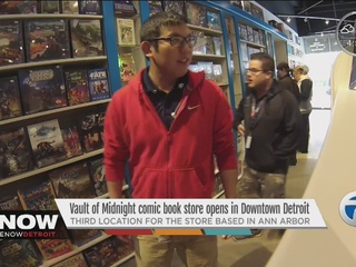 Vault of Midnight comic book shop opens!