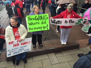 DPS teachers march in protest during sick-outs