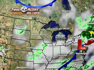 FORECAST: Drizzle gives way to late sun