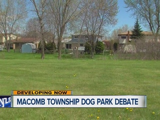Not all neighbors fans of Macomb Twp. dog park