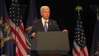 VIDEO: Governor Snyder booed in Flint